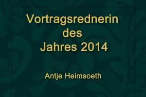 Heimsoeth ist als eine der erfolgreichsten Erfolgs- und Motivationstrainer im deutschsprachigen Raum.