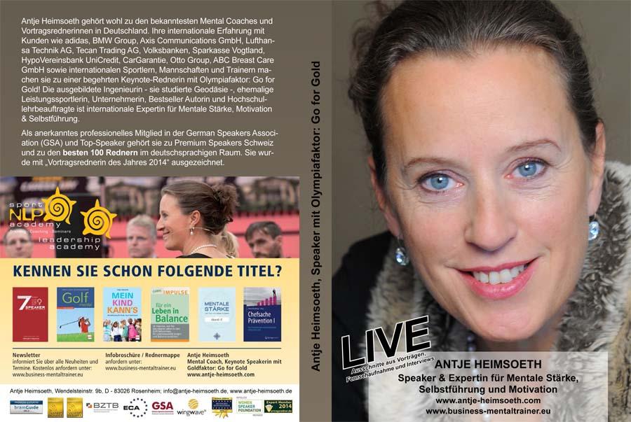 DVD Mentale Stärke Antje Heimsoeth