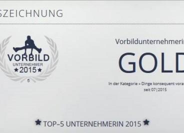 Auszeichnung-Unternehmerin Mental Coach Antje Heimsoeth