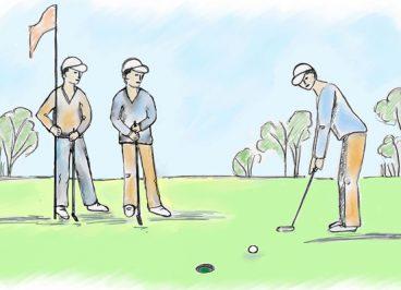 Gewinner Strategien von Golfern Antje Heimsoeth