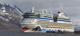 Antje Heimsoeth an Bord der AIDA-Schiffe