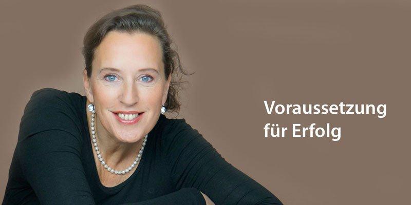 Voraussetzung für Erfolg - Antje Heimsoeth