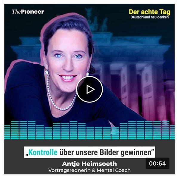 """Steingarts Podcast-Zyklus """"Der achte Tag: Deutschland neu denken"""""""