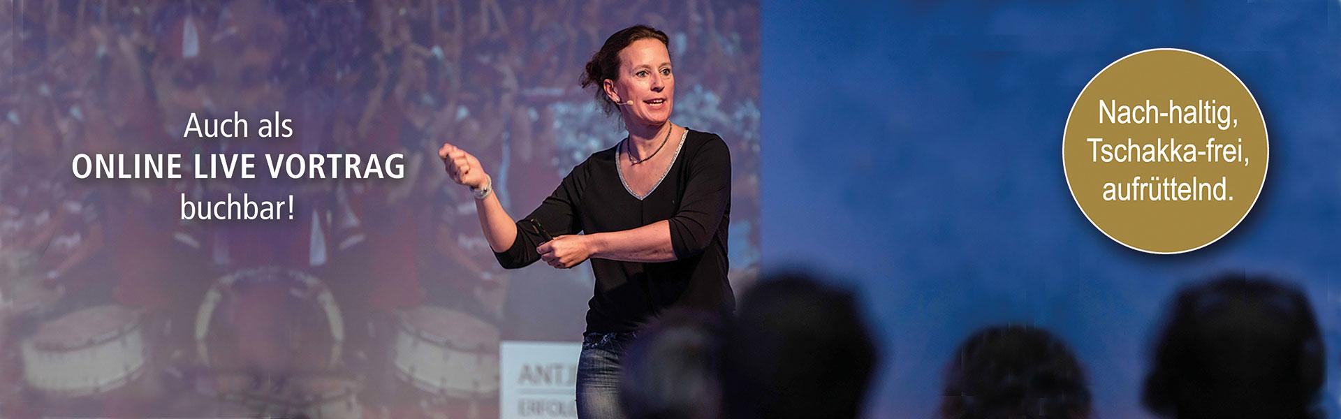 """Antje Heimsoeth Impulsvortrag """"FÜHRUNGSSTÄRKE"""" in Zeiten von Digitalisierung und Globalisierung"""