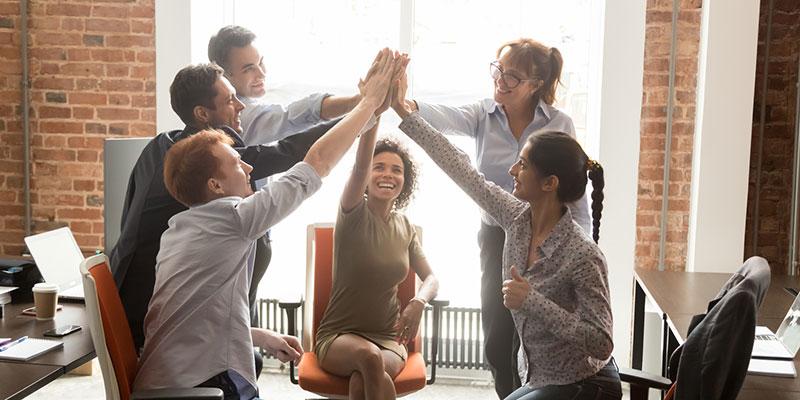 Mitarbeiterzufriedenheit basiert auf guter Führung und förderlicher Unternehmenskultur